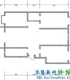 三室两厅两卫  148.86㎡5.5万149㎡简装